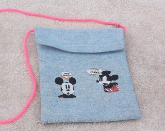 Purse/tote featuring Minnie Mouse and Mickey Mouse
