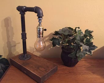 Edison Industrial Desk Lamp - Vintage