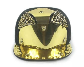 metal cap gold spikes