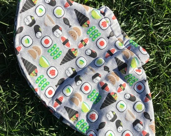 Kawaii sushi skater skirt