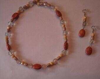 Pocahontas Inspired Jewelry Set