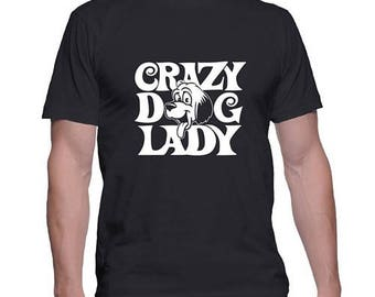Crazy Dog Lady Dog Lovers Tshirt