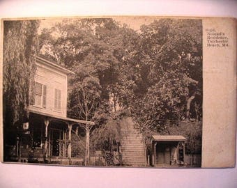 Postcard of: Superintendent Noland's Residence in Tolchester Beach