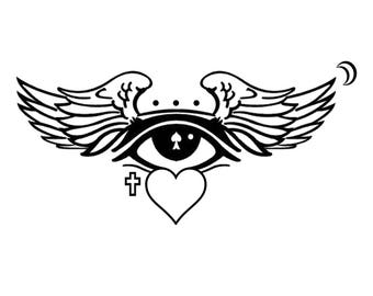 All Seeing Angel T-Shirt