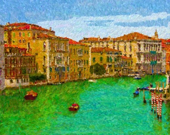 Grand Canal, Venice 16 x 20 Canvas Print