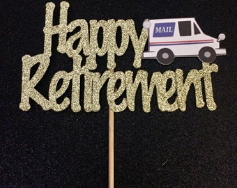 Happy Retirement,Postal Worker, Mailman