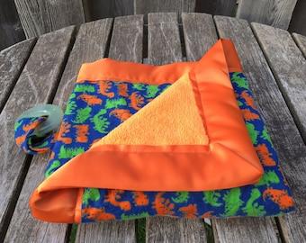 Baby Blanket    Baby Shower Gift    Pacifier Clip    Binky Clip    Security Blanket    Custom Baby