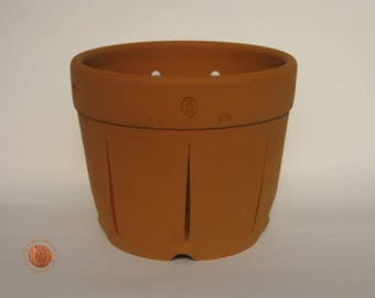 Orchid pot terracotta (12021)