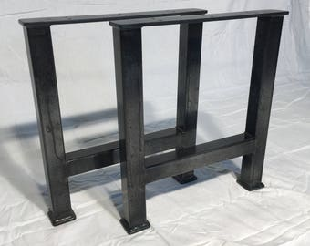 Metal Table Legs, Handcrafted Quality, Tig Welded, coffee table, bench. Better than the Best! Home furnishings, furniture.