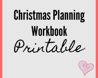 Christmas Planning Workbook
