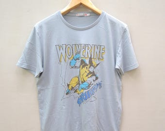 Vintage Wolverine T Shirt Marvel Comics Hero X Men Size XL