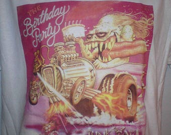 Birthday party Junk yard sleeve T-shirt