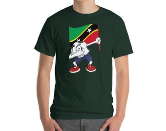 Saint Kitts and Nevis Soccer T-Shirt