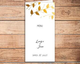 25 menu Penumbra folded