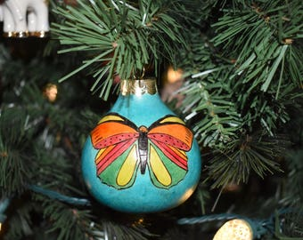 Gourd butterfly ornament