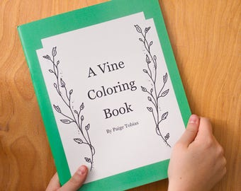 Vine Coloring Book