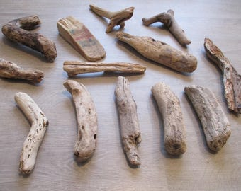 Set of 13 Driftwood