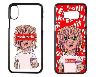 Lil Pump Case, Lil Pump Iphone x Case, Lil Pump, Esskeetit Case, Lil Pump Esskeetit x Case, iPhone x Case, Samsung s8 Case, Samsung s7 Case
