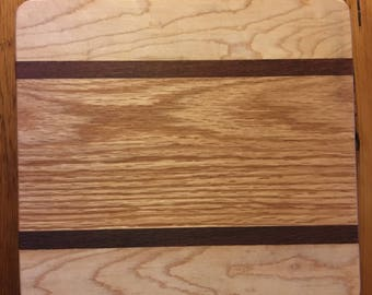 Lacewood Maple & Oak Cheese Board