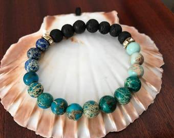 Aromatherapy Lava Stone  Diffuser Bracelet