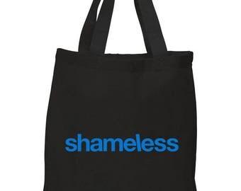"""Shameless TV Show """"Logo"""" Cotton Tote Bag"""