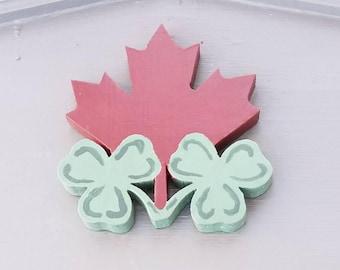 Irish Canadian Maple Leaf
