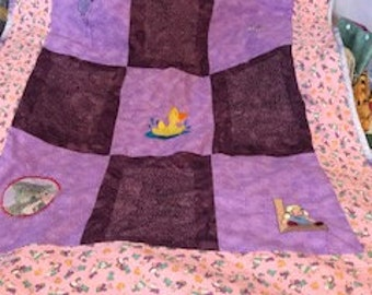 Baby  Quilt  Baby Girl