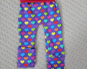 Grow with me pants, 6-18 months