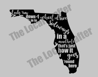 Southern Land Decal