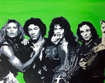 Van Halen Acrylic