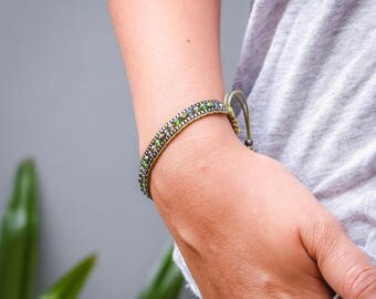 Boho Bracelet Bead Bracelet  Hippie Bracelet, Wrap Bracelet Handmade Bracelet Women's Bracelet  female bracelet, Gemstone Bracelet