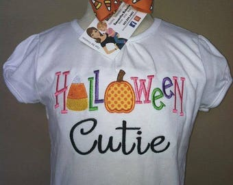 Personalized Halloween Cutie Shirt