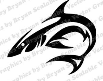 Shark Svg File Etsy