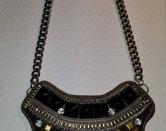 Vintage Costume Jewelry Necklace Cleopatra style