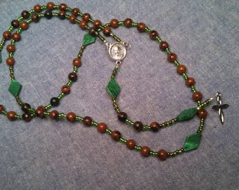 Protection & Pope Francis rosary