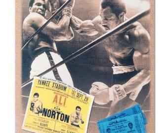 Ken Norton and Ali Ticket