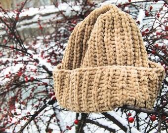 Plush soft hat