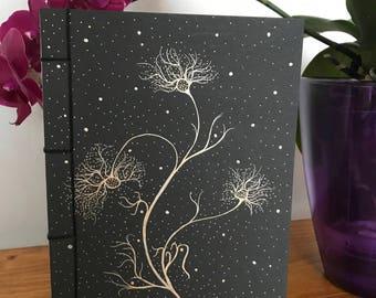 Handmade notebook, A5, Japanese binding