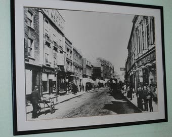 Croydon surrey large framed print