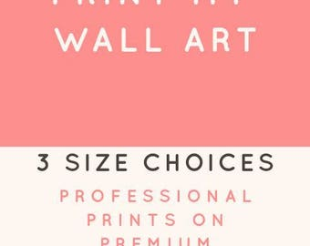 Printed Wall Art