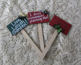 Garden Markers/Plant Stakes
