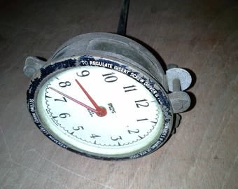 vintage automobile clock for restoration