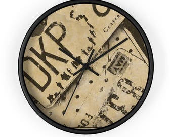 Man Cave Clock : Best game clock images recycling and wall
