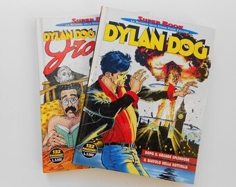 Super book Comics, Dylan Dog, collection years ' 90