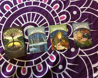 Earth Magic Oracle Card Reading- Three Card Spread