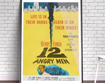 12 Angry Men - Film, Movie, Poster