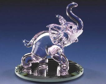 Handmade Glass Mini Elephant