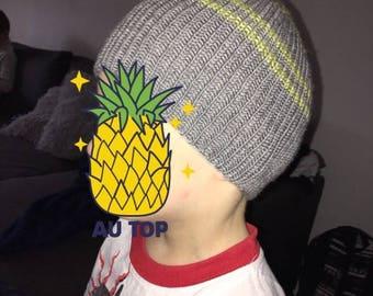 Hand knitted children Hat