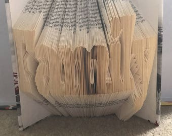 Family Book Folded Art