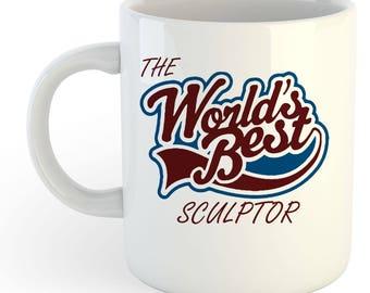 The Worlds Best Sculptor Mug